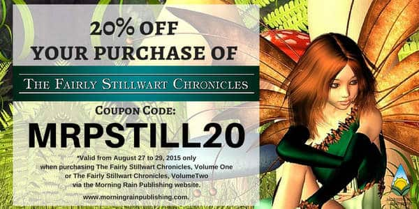 Discount coupon for the Fairly Stillwart Chronicles Volume 2