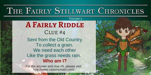 Riddle clue for Fairly Stillwart Chronicles Blog Tour