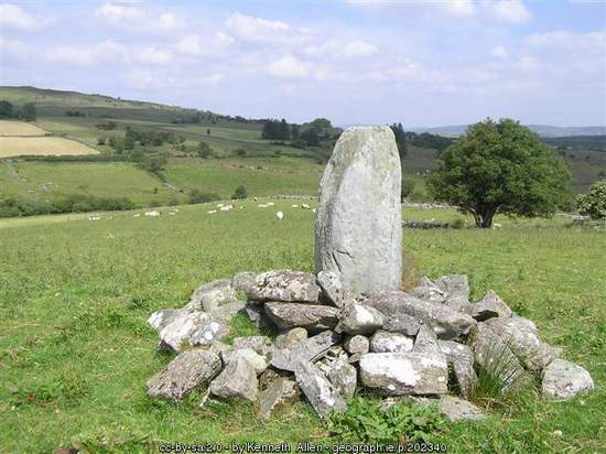 Standing Stone in County Tyrone