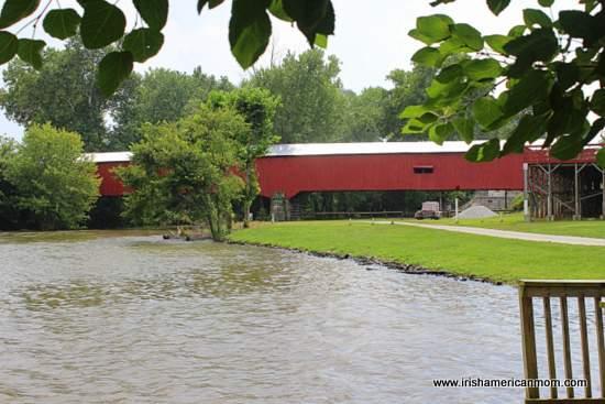 Mansfield Bridge, Indiana