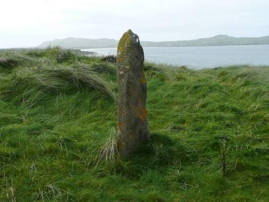 Ogham Stone near Ballyferriter, County Kerry