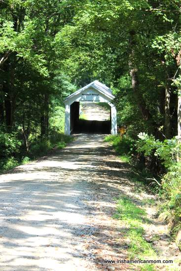 Parke County Covered Bridge in the trees