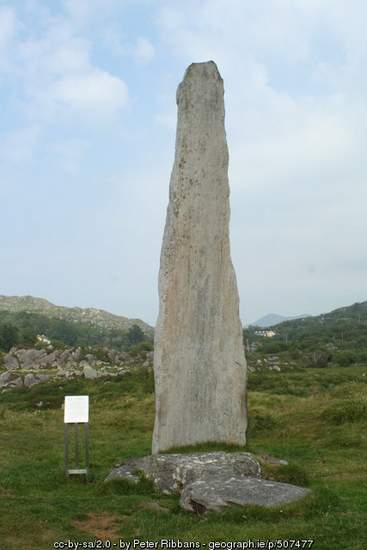 Tallest ogham stone in the world