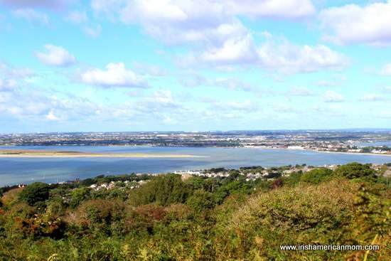 Dublin Coastline from Howth Hill