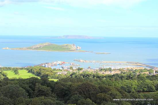 Howth Harbor from Howth Hill
