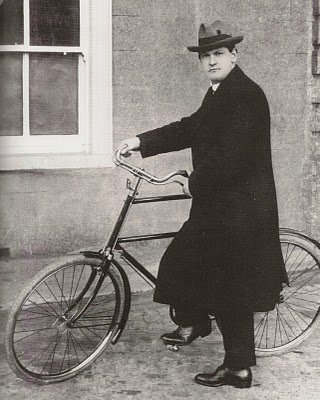 Michael Collins And His High Nelly Bicycle
