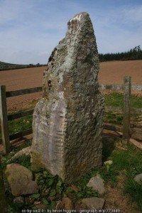 Ogham stone in County Kilkenny Ireland