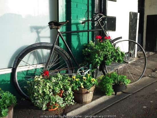 Old Bicycle in Bangor, Ireland