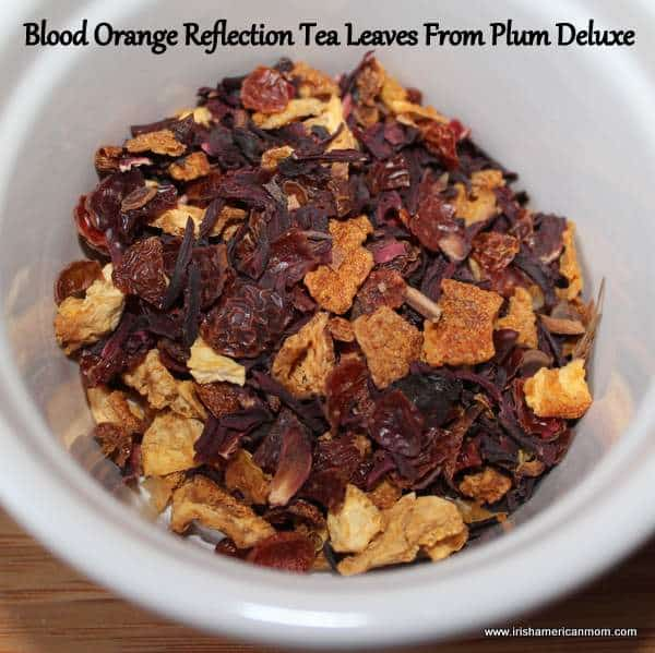 Blood Orange Reflection Tea Leaves from Plum Deluxe