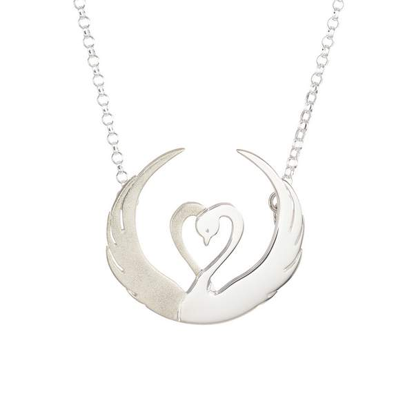 Children of Lir Silver Pendant - Beautiful Irish Jewelry