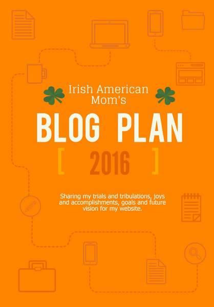 2016 Blog Plan