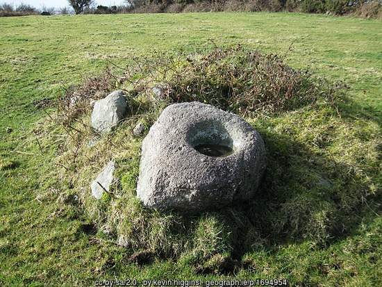Ballaun Stone in County Kilkenny