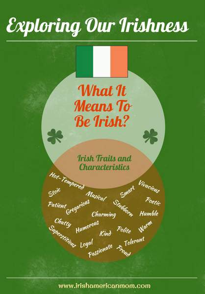 What it means to be Irish graphic