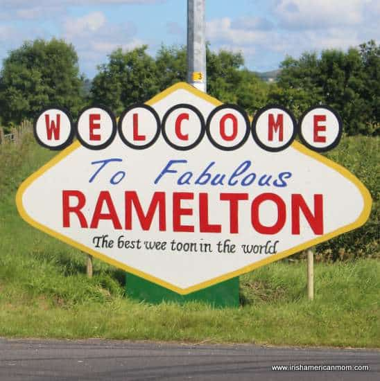 Fabulous Ramelton Sign