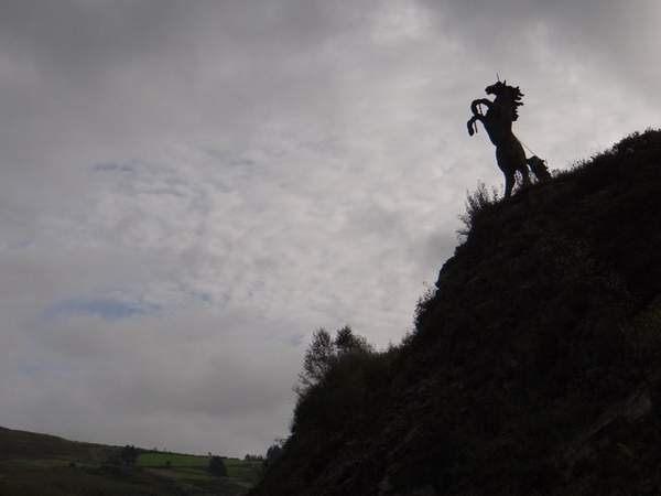Horse Sculpture between Cork and Kerry