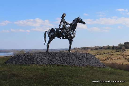 Sculpture by Lough Key County Roscommon