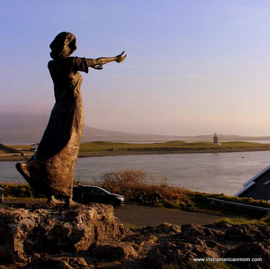 Statue at Rosses Point Sligo
