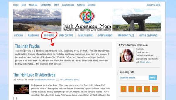 The Irish Psyche Irish American Mom