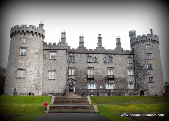 Side of Kilkenny Castle