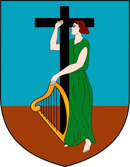 Coat of Arms for the Carribbean island of Montserrat