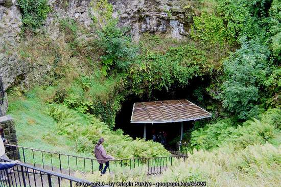 Entrance to Dunmore Cave County Kilkenny Ireland