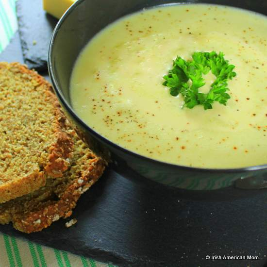 Farmhouse Potato soup - Irish recipe