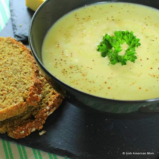 Farmhouse Potato soup - Irish recipe