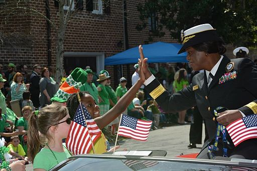 Navy_Recruiting_Command_commander_takes_part_in_Savannah's_191st_St._Patrick's_Day_Parade