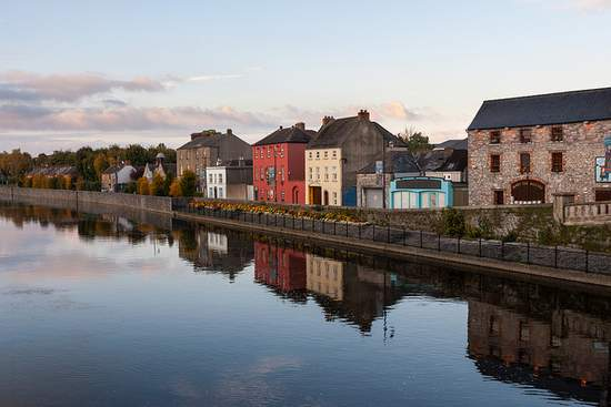 The River Nore in County Kilkenny
