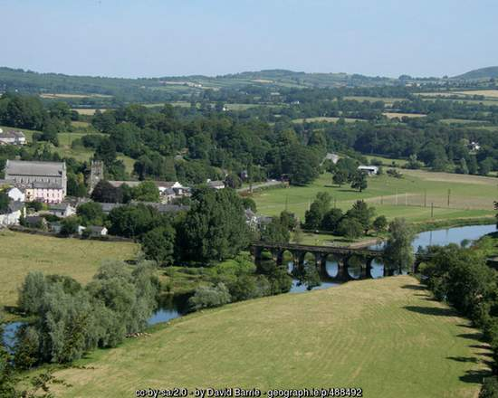 Village of Inistioge County Kilkenny