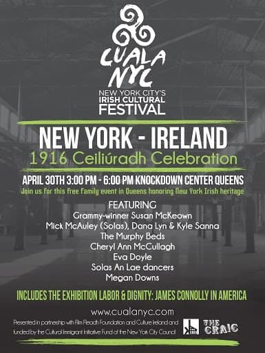 1916 Ceiliuradh Celebration New York - Ireland