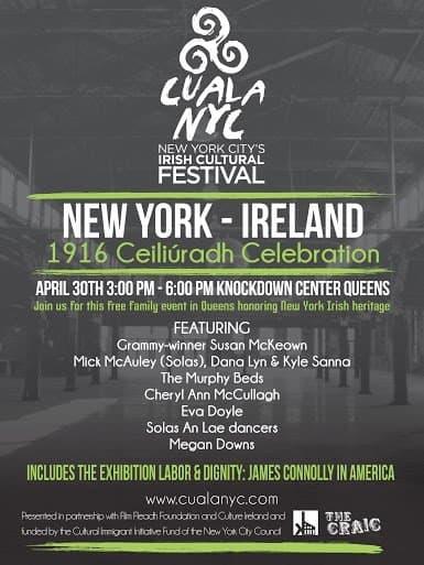 1916 Ceiliuradh Celebration New York - Ireland