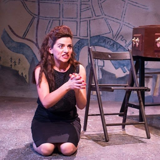 Copy of Two Sore Legs (Kneeling) Actor Maria Connolly
