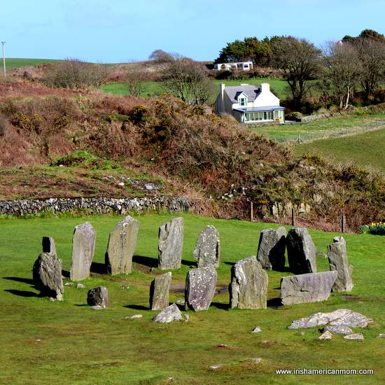 Drombeg Stone Circle, Glandore, County Cork