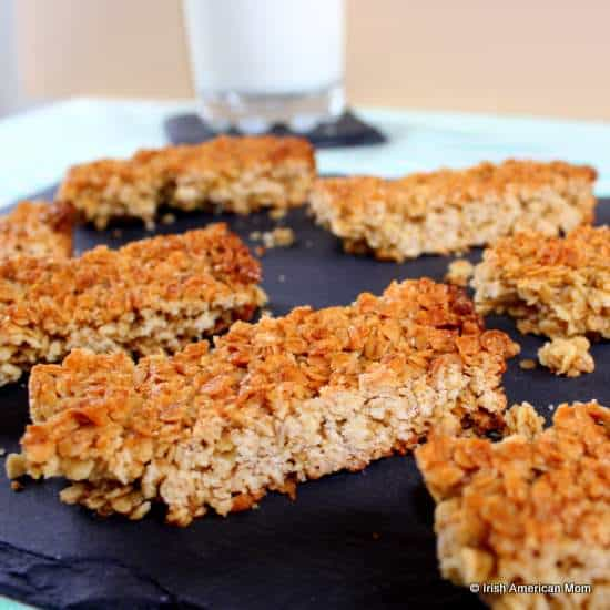 Flapjacks in Ireland or granola bars in America