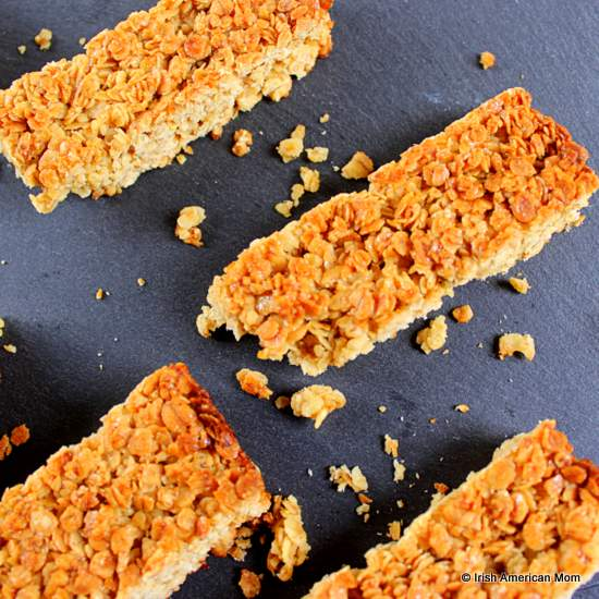 Granola bars or flapjacks