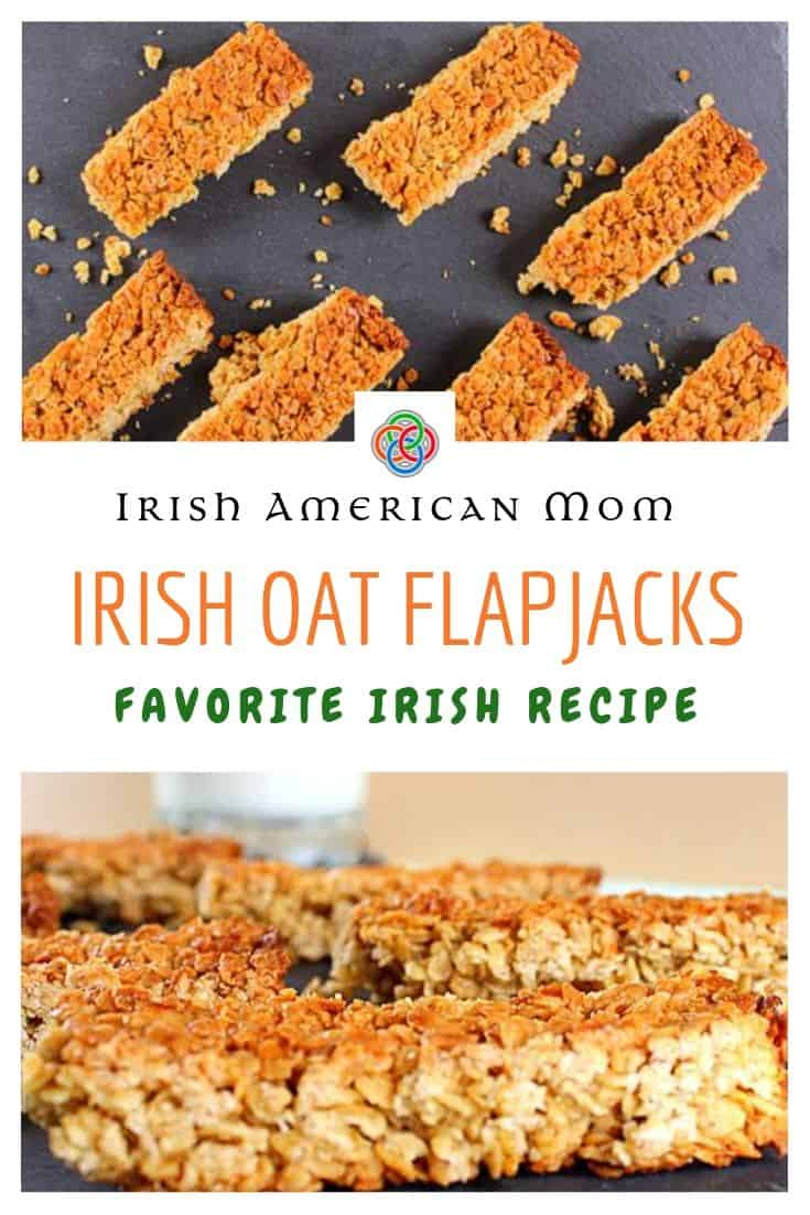 A simple easy to make Irish oat bar