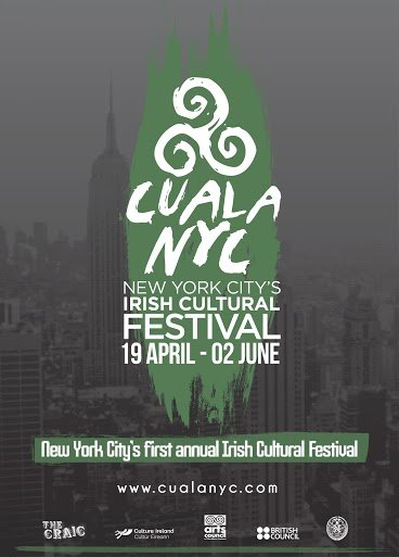 Poster for CualaNYC New York City's Irish Cultural Festival