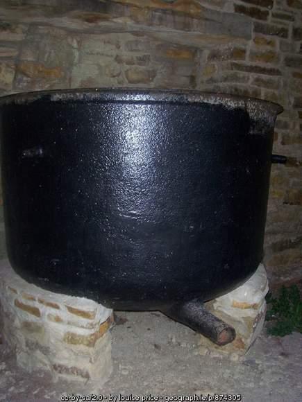 Famine Pot in Lough Eske County Donegal
