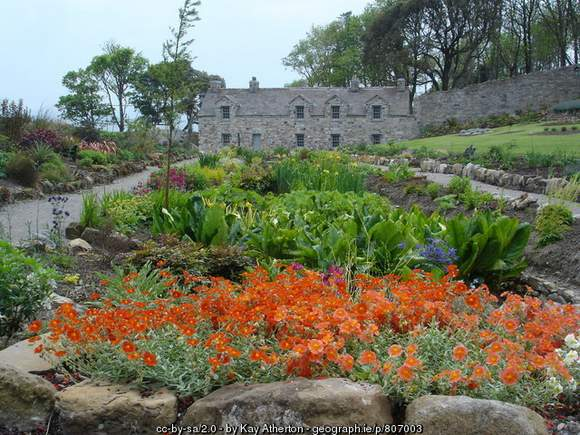 Gardens at Lissadell County Sligo Ireland