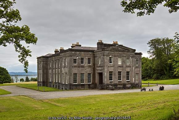 Lissadell House, Georgian Mansion and home of the Gore-Booth family in County Sligo
