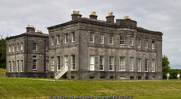 Lissadell House a restored Georgian mansion in Sligo, Ireland