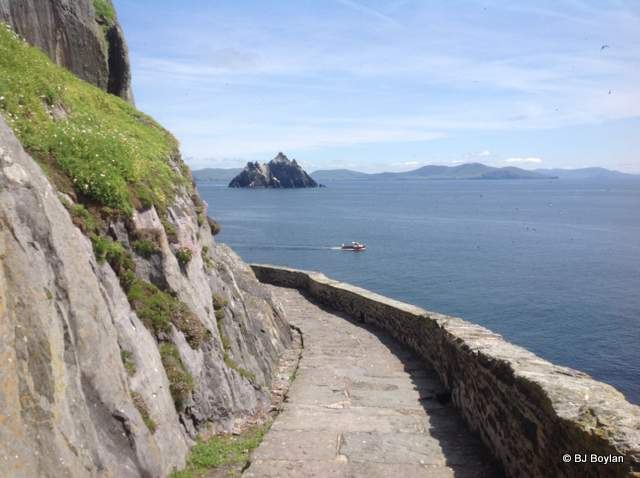 Path on Skellig Michael