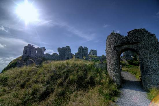 Rock of Dunamase County Laois Ireland