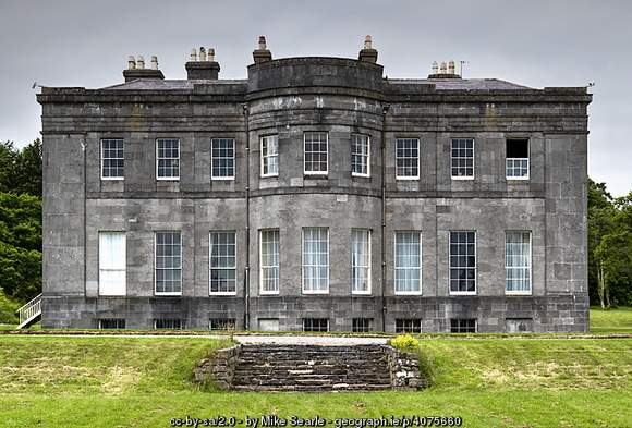South elevation of Lissadell House, Sligo