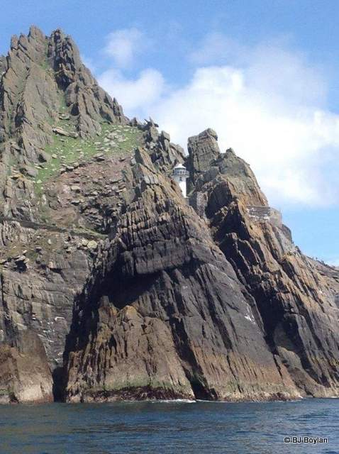 The Skellig Lighthouse