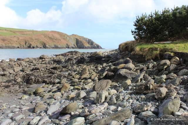Beach near Glandore County Cork