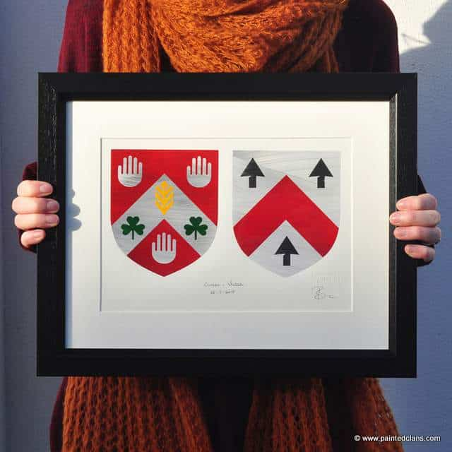 Cullen Coat of Arms - artwork by Painted Clans