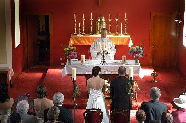 An Irish Catholic wedding