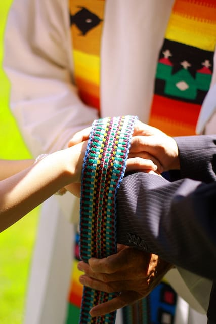 Handfasting - an old Celtic wedding tradition